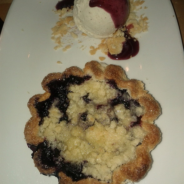 Blueberry Pie @ Vernick Food & Drink