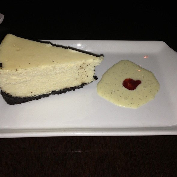 Black And White Cheesecake - Saltus River Grill, Beaufort, SC