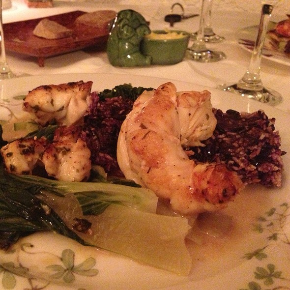 Lobster With Seaweed Butter And Crispy Sticky Purple Rice @ Hibernia Restaurant & Art Gallery