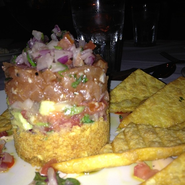 Spicy Ahi Tuna Tower - Morton's The Steakhouse - Coral Gables, Coral Gables, FL