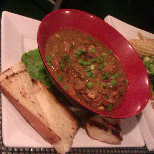 Gator Gumbo @ Tee Off Bar and Grill