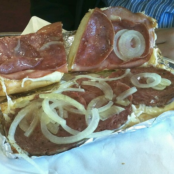 Italian Trio Sandwich @ Gioia's Deli