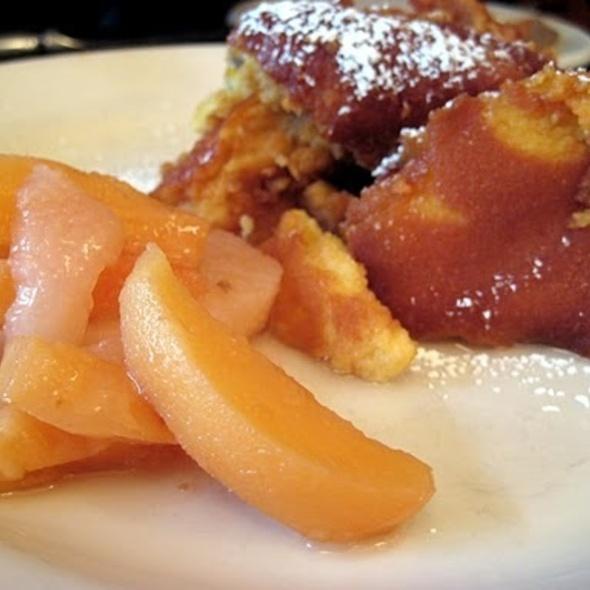 Käiserschmarrn And Rhubarb Compote @ Blaue Gans Restaurant