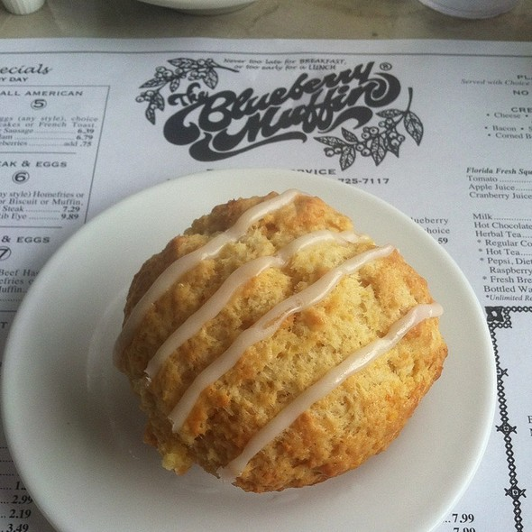 Orange Muffin @ Blueberry Muffin Restaurant