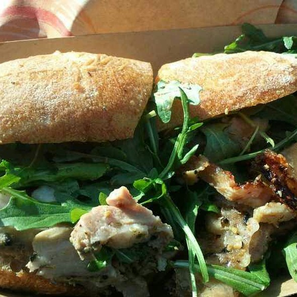 Rotisserie Porchetta Sandwich at Roli Roti at the Ferry Building ...