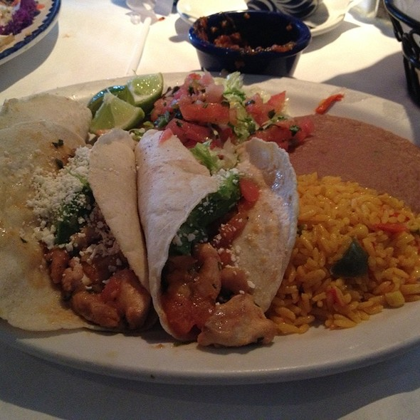 Tacos Michoacan  @ Miguel's Mexican Cafe