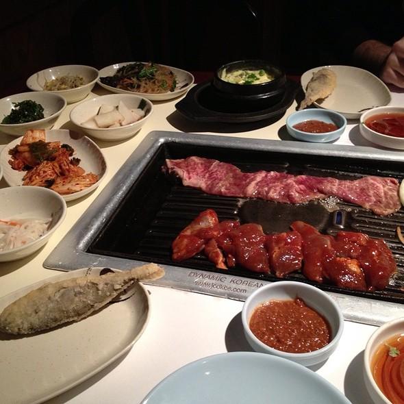 Kalbi - korean bbq @ Beawon Shilla Restaurant
