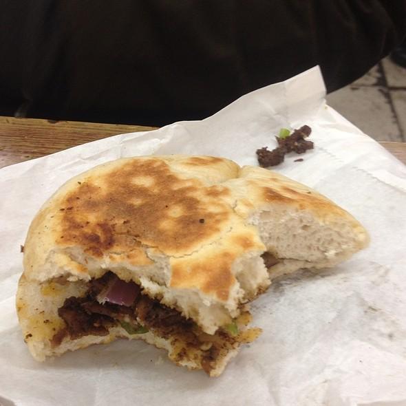 Lamb Cumin Burger