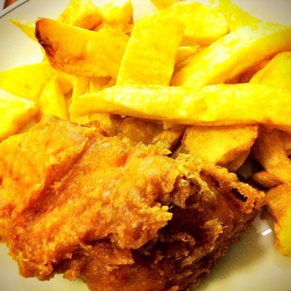 Rock Cod Fish And Chips