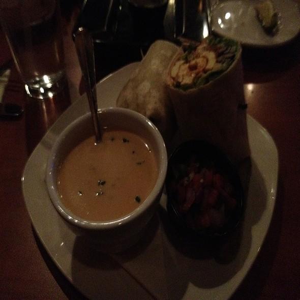 Beer Cheese Soup & Black Bean Wrap - Home Grown Café, Newark, DE