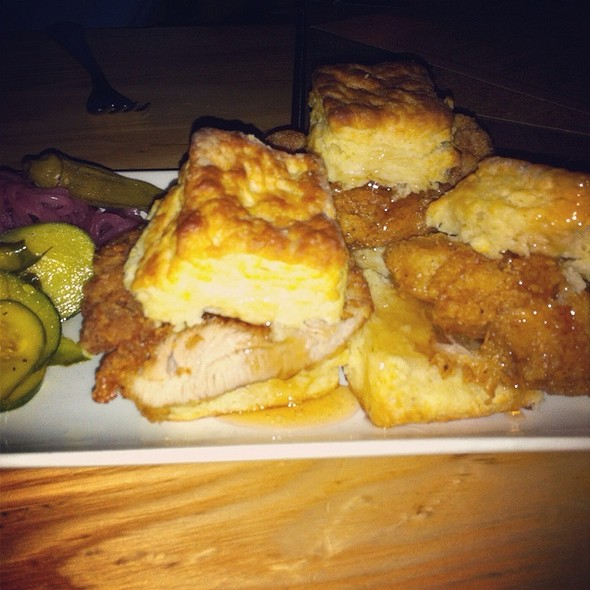 Mama's Chicken Biscuits @ Yardbird Southern Table And Bar