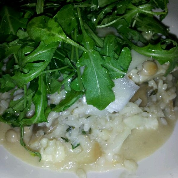 Mushroom Risotto With Shaved Parm, Truffle Oil - The Rowhouse Grille, Baltimore, MD