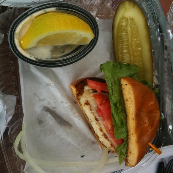 Crabcake Sandwich @ Joe's Stone Crab