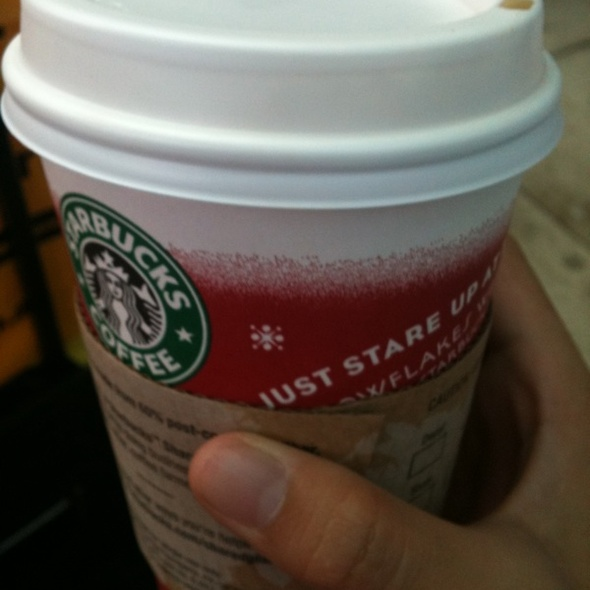 Toffee Nut Soy Latte @ Starbucks
