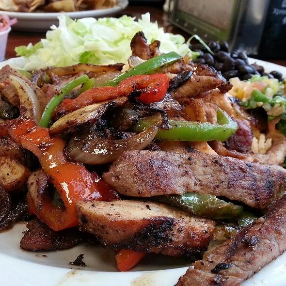 Carne Asada and Chicken Combination @ Tortillas