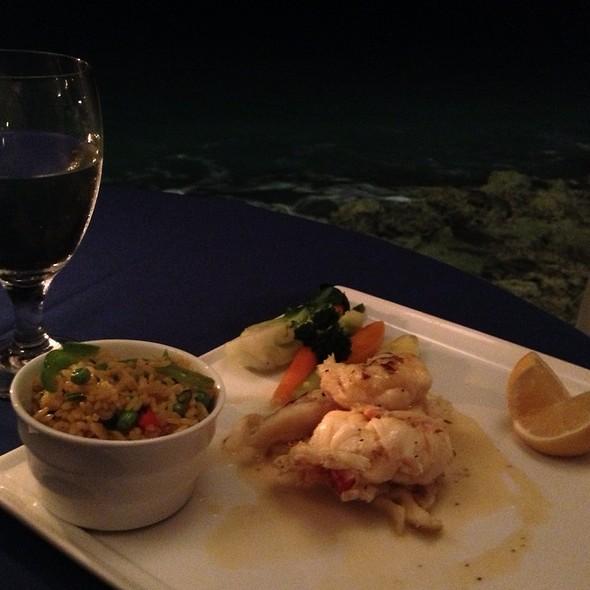 Pan Seared Lobster @ Cap Juluca