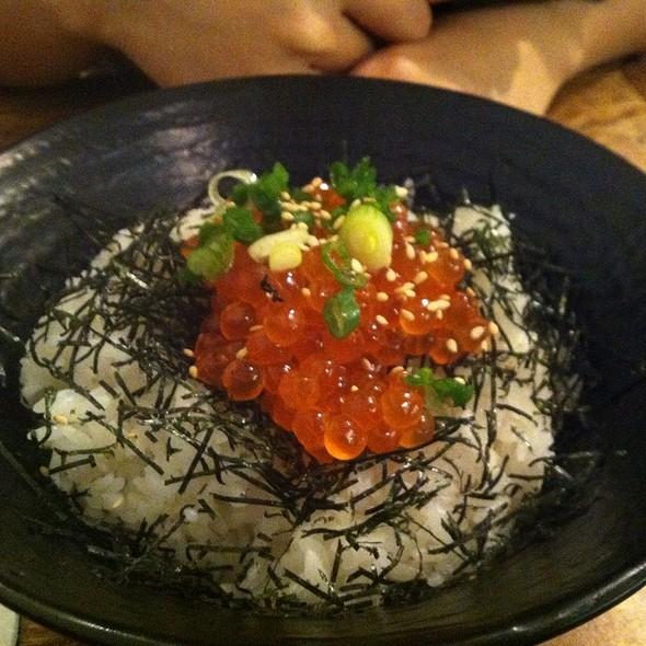 Ikura Rice @ Ramen Yamadaya