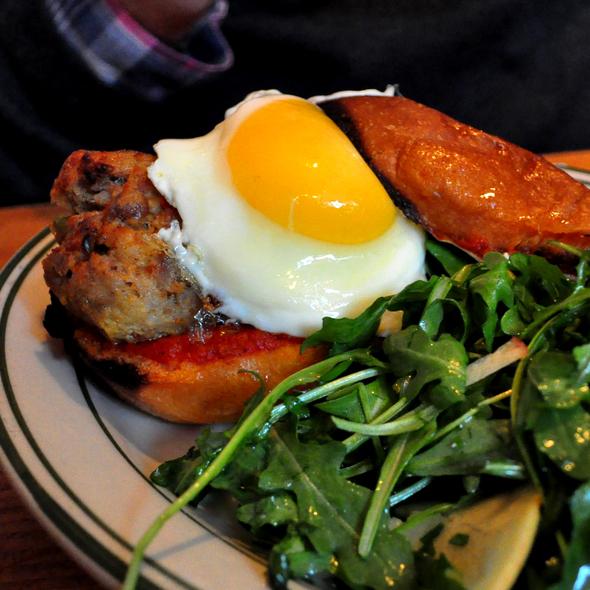 Spicy Pork Meatball Smash @ The Meatball Shop