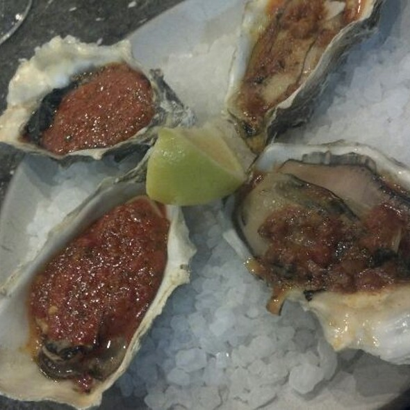 Grilled Puquillo & Casino Oysters @ Hog Island Oyster Co.