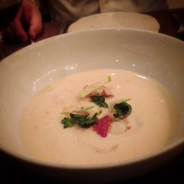 Parsnip Soup With Maine Lobster
