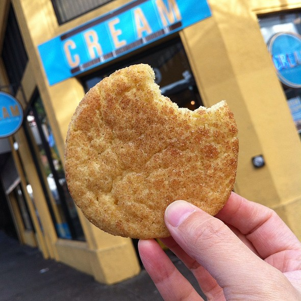 Snickerdoodle Cookie @ CREAM (Cookies Rule Everything Around Me)