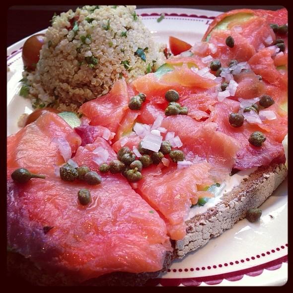 Smoked Salmon Sandwich @ La Boulange