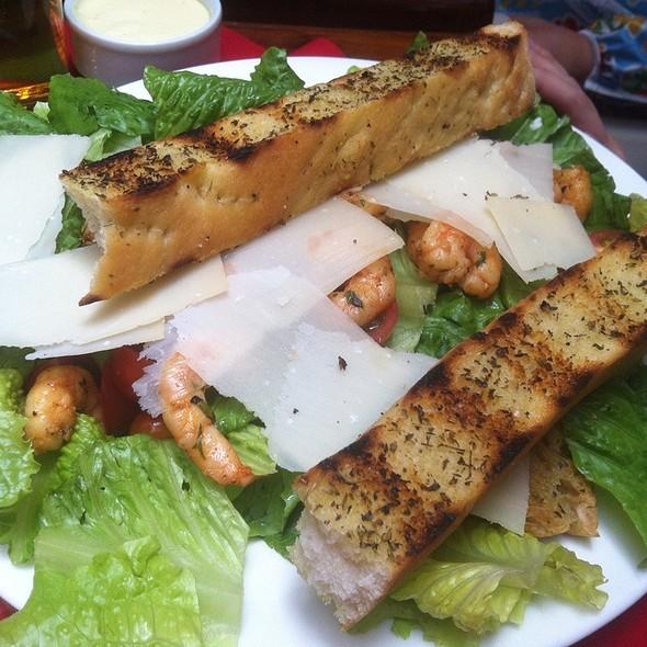 shrimp salad @ Pizzería Tiramisu