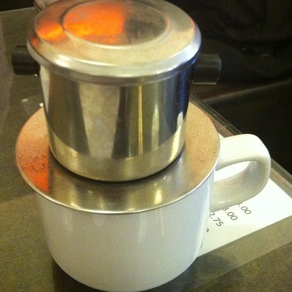Vietnamese Coffee @ Vien Cafe