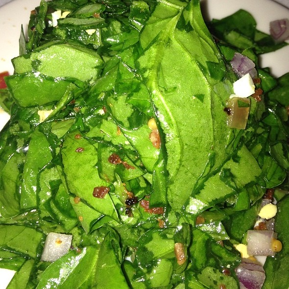 Spinach and Smoked Bacon Salad - Morton's The Steakhouse - Great Neck, Great Neck, NY