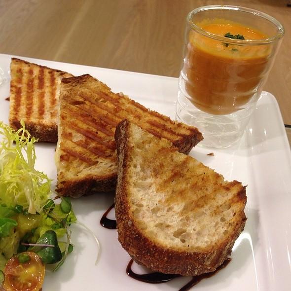 "Tomato Soup & Grilled Cheese Sandwich"" @ Nespresso Boutique"