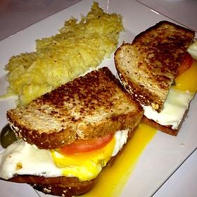 Sunny Side Up Egg Sandwich