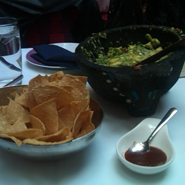 Guacamole and Chips @ Rosa Mexicano Union Square