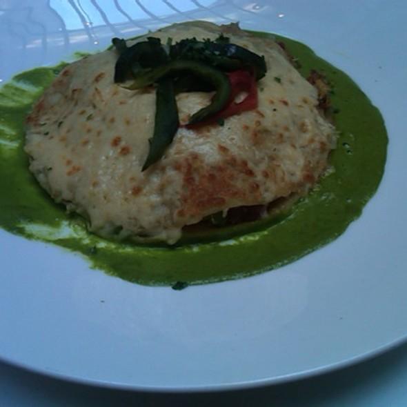 Budín/Chicken Tortilla Pie @ Rosa Mexicano Union Square