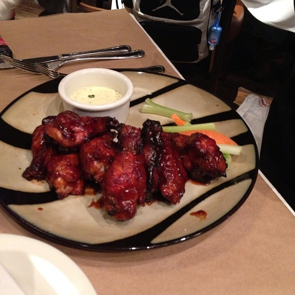 Bourbon Chicken Wings  - Guy's American Kitchen and Bar, New York, NY