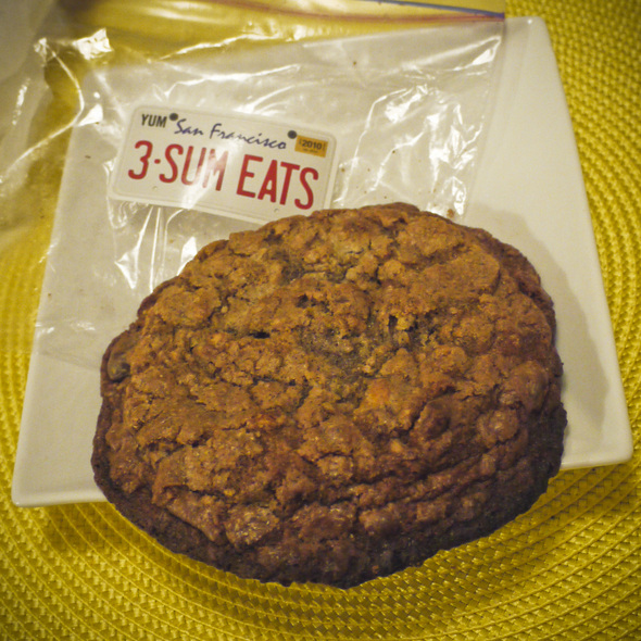 the kitchen sink cookie @ Chef Ryan Scott's 3-SUM Eats Food Truck