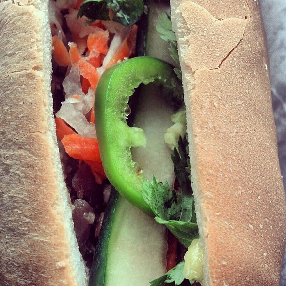 Banh Mi with Shredded Pork @ Catina
