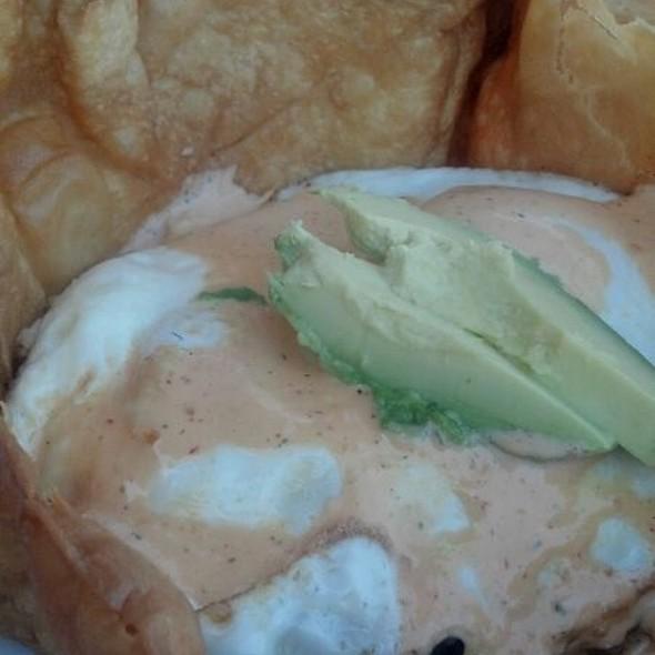 Huevos rancheros @ Water Grill