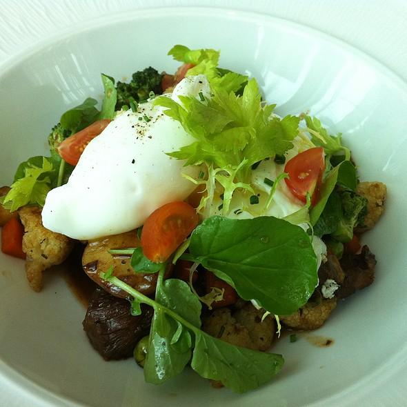 Poached egg with braised short rib - Luce - InterContinental San Francisco, San Francisco, CA