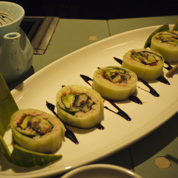 Spicy Scallop Roll @ Tokyo Go Go