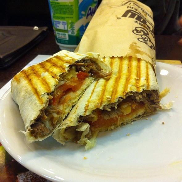 Doner Kebab Wrap @ Kadıköy Saray Muhallebicisi
