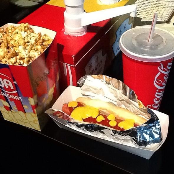 Standard Hk Popcorn (Caramel), Hot Dog And Pop @ Isquare
