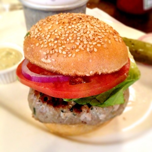 Tuna Burger - The Odeon, New York, NY