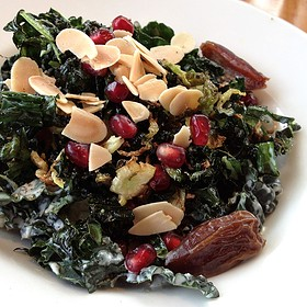 Fried Kale Salad