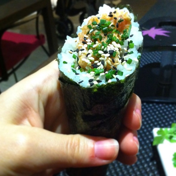 Spiced Tuna Roll