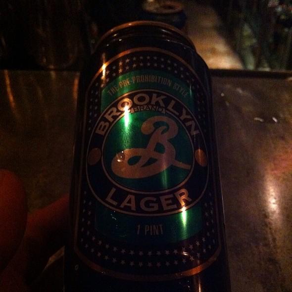 Brooklyn Lager - Brooklynite, San Antonio, TX