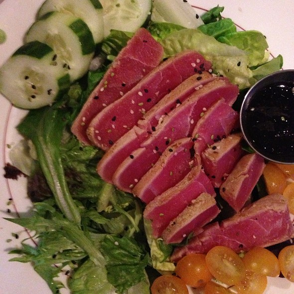 Ahi Tuna Salad - Raintree Restaurant, St. Augustine, FL