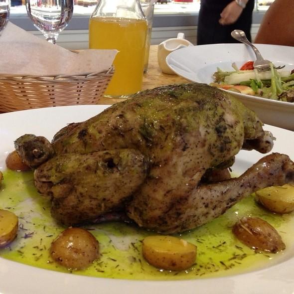 Flambéed Spring Chicken À La Barthelasse @ Bizu Patisserie