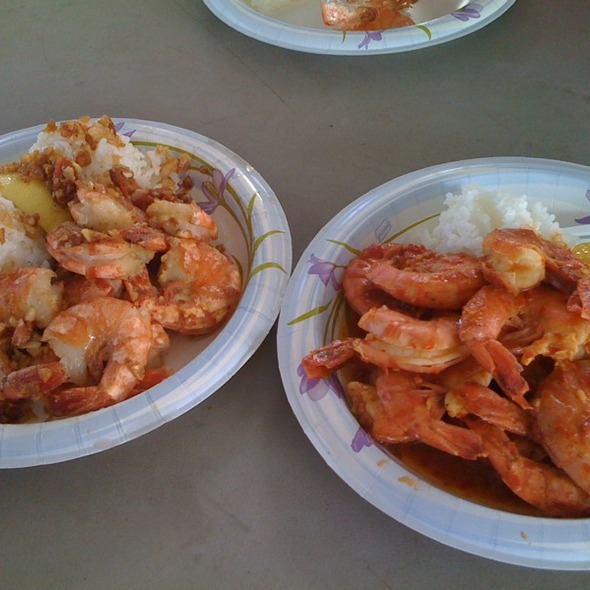 Shrimp Scampi @ Giovanni's Shrimp Truck