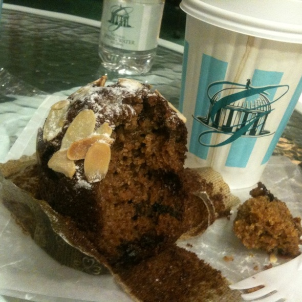 Bran Muffin with Almonds @ The Greenbrier