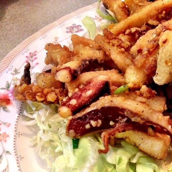 Salt and Pepper Squid @ Hilo Rice Noodle Shop